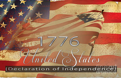 4th July 1776 Photograph - Declaration Of Independence  by Beverly Guilliams