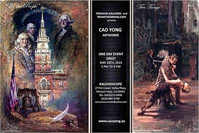 Painting - Declaration Tango by Cao Yong