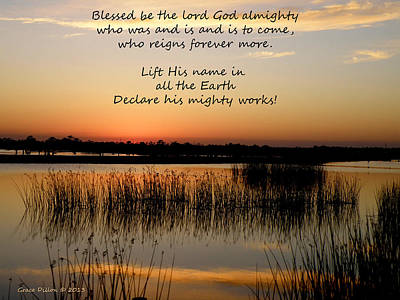 Photograph - Declare His Mighty Works by Grace Dillon