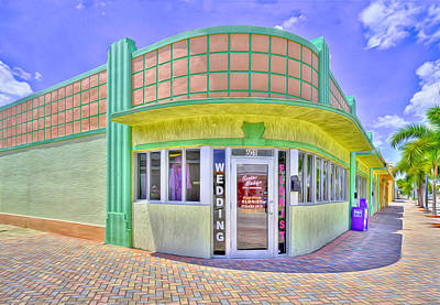 Vero Beach Digital Art - Deco Duo by Gregory W Leary