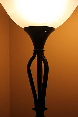 Photograph - Deco Lamp 5 by Mary Bedy