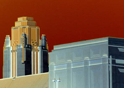 Digital Art - Deco Smith Center by Randall Weidner
