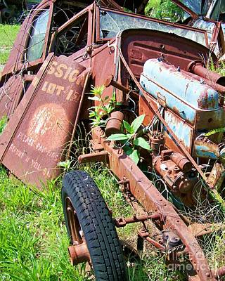 Car Photograph - Deconstructed by Chuck  Hicks