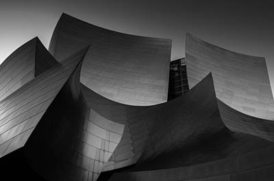 Walt Disney Concert Hall Photograph - Deconstructed by Ralph Vazquez