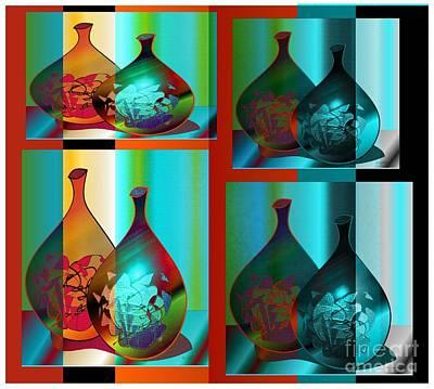 Art Print featuring the digital art Decor 2 by Iris Gelbart