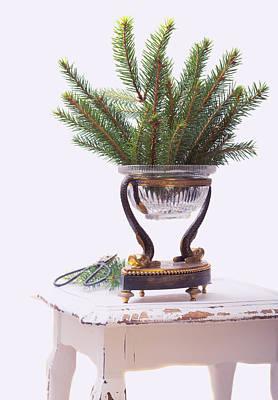 Pine Needles Photograph - Decorating For Christmas by Amanda Elwell