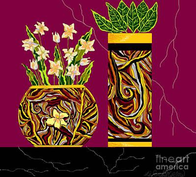 Digital Art - Decorating With Style by Lewanda Laboy