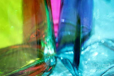 Photograph - Decorative Bottles IIi by Krissy Katsimbras