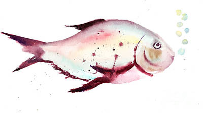 Decorative Fish Art Print