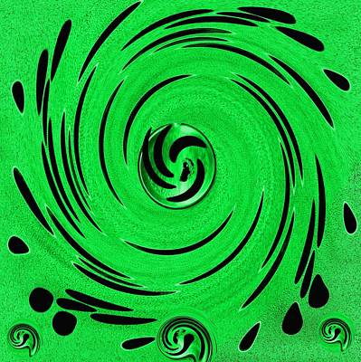 Royalty-Free and Rights-Managed Images - Decorative In Greens by Pepita Selles