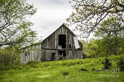 Photograph - Decrepit Barn Joplin Missouri by Deborah Smolinske
