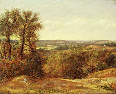 Dedham Vale, John Constable, 1776-1837 Art Print by Litz Collection