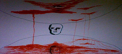 Kubrick Painting - dedicated to Stanley Kubrick by Raul Gubert