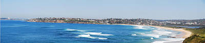 Soap Suds - Dee Why beach by Christopher Edmunds