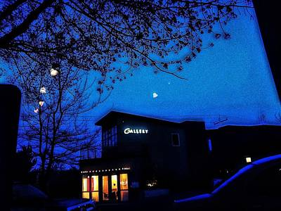 Manipulation Photograph - Deep Blue Night by Eddie G