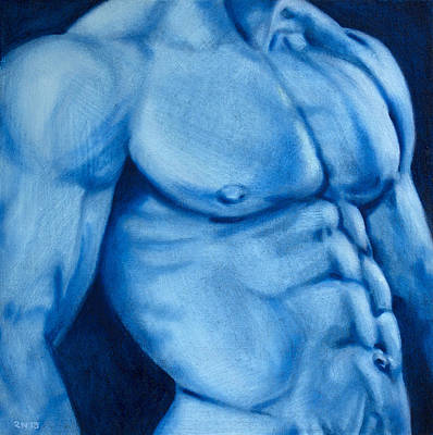 Painting - Deep Blue by Rudy Nagel