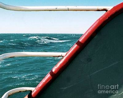 Photograph - Deep Blue Sea Of The Gulf Of Mexico Off The Coast Of Louisiana Louisiana by Michael Hoard