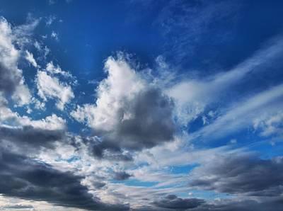 Photograph - Deep Blue by Tom Druin