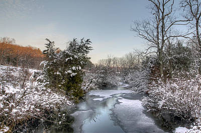 Deep Creek At Green Lane Reservoir - Pennsylvania Usa Art Print by Mother Nature