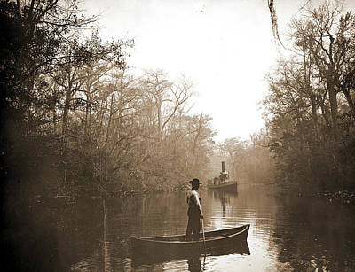 Creek Drawing - Deep Creek, Fla, Jackson, William Henry, 1843-1942, Rivers by Litz Collection