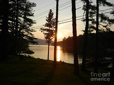 Art Print featuring the photograph Deep Creek Lake Park Md by Emmy Marie Vickers