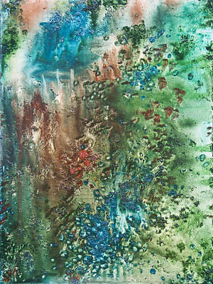 Origin Mixed Media - Deep Down - To The Soul Of The Sea by Sora Neva