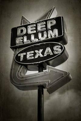 Deep Ellum Art Print by Joan Carroll