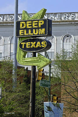 Photograph - Deep Ellum Texas by Allen Sheffield