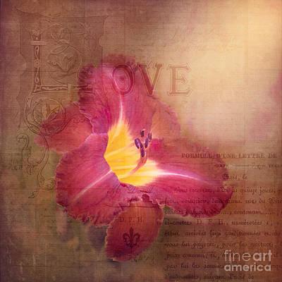 Stamen Digital Art - Deep Emotion by Betty LaRue