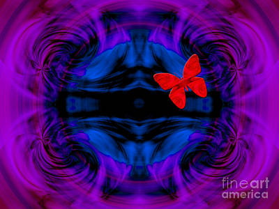 Digital Art - Deep Flight by Kristi Kruse