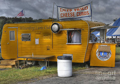 Deep Fried Cheese Curds Art Print