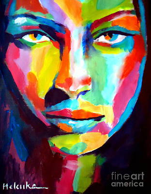 Painting - Deep Gaze by Helena Wierzbicki