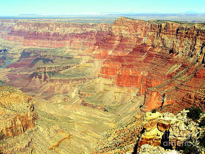Photograph - Deep Grand Canyon by John Potts