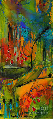 Mixed Media - Deep In The Jungle by Angela L Walker
