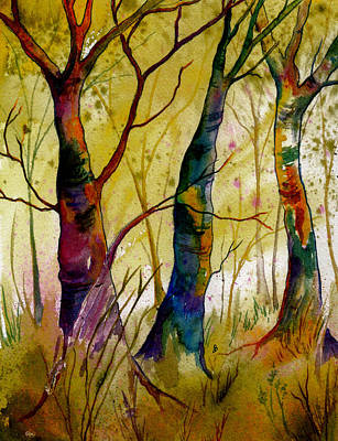 Painting - Deep In The Woods by Brenda Owen