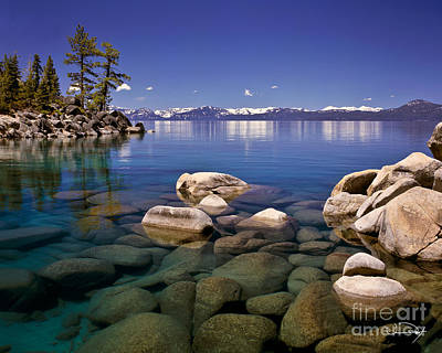 Lake Wall Art - Photograph - Deep Looks by Vance Fox
