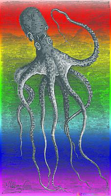 Deep Monster Art Print by Eric Edelman