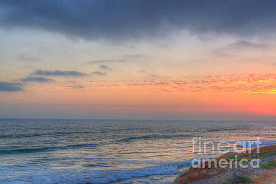 Photograph - Deep Orange California Sunset by Deborah Smolinske