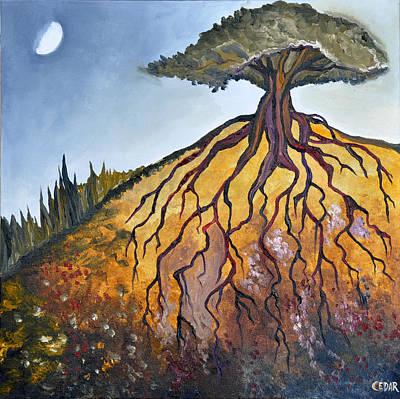 Deep Roots Art Print by Cedar Lee