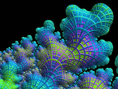 Digital Art - Deep Sea Coral by Susan Maxwell Schmidt