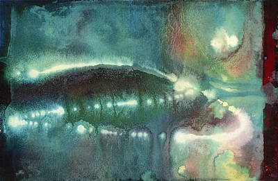 Painting - Deep Sea Florescence by Sperry Andrews