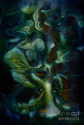 Painting - Deep Sea Within by Lyn Pacificar