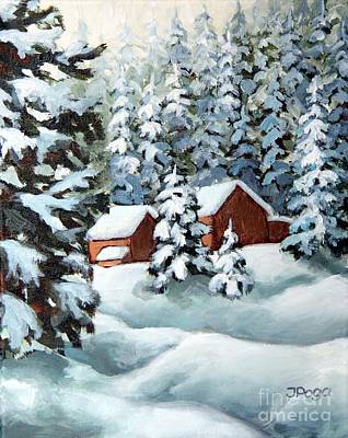 Painting - Deep Snow by Inese Poga