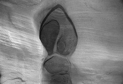 Photograph - Rock Design by Aidan Moran