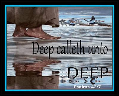 Digital Art - Deep Unto Deep by Kelly Turner