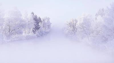 Hoarfrost Wall Art - Photograph - Deep Winter by Norbert Maier