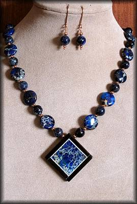 Lampwork Jewelry - Deepbluevue by Jan Brieger-Scranton