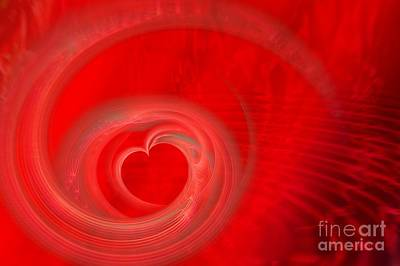 Digital Art - Deeper Love by Peggy Hughes