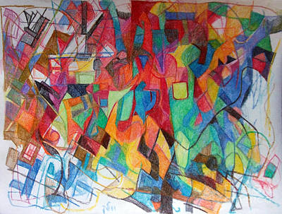 Creativity Drawing - Deeper Study 1 by David Baruch Wolk