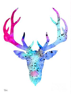 Deer 6 Art Print